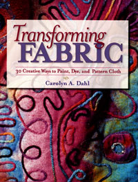Transforming Fabric Book Cover